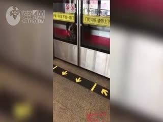 惊险!列车高速行驶 女子被夹屏蔽门与车厢间无法动弹