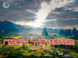 """广西桂林平乐""""十八酿""""美食节欢迎您"""