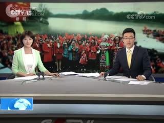 广西桂林春天里唱响我和我的祖国