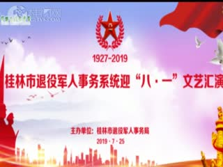 桂林市退役军人事务系统迎八一